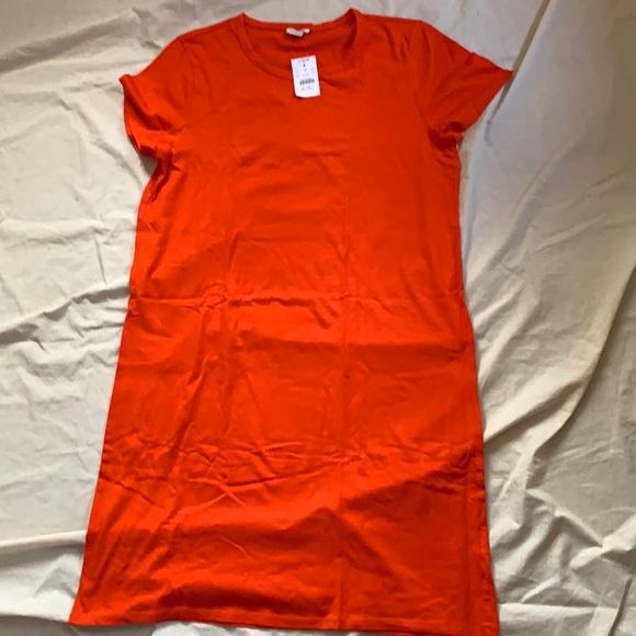 NWT  J. Crew T-shirt dress